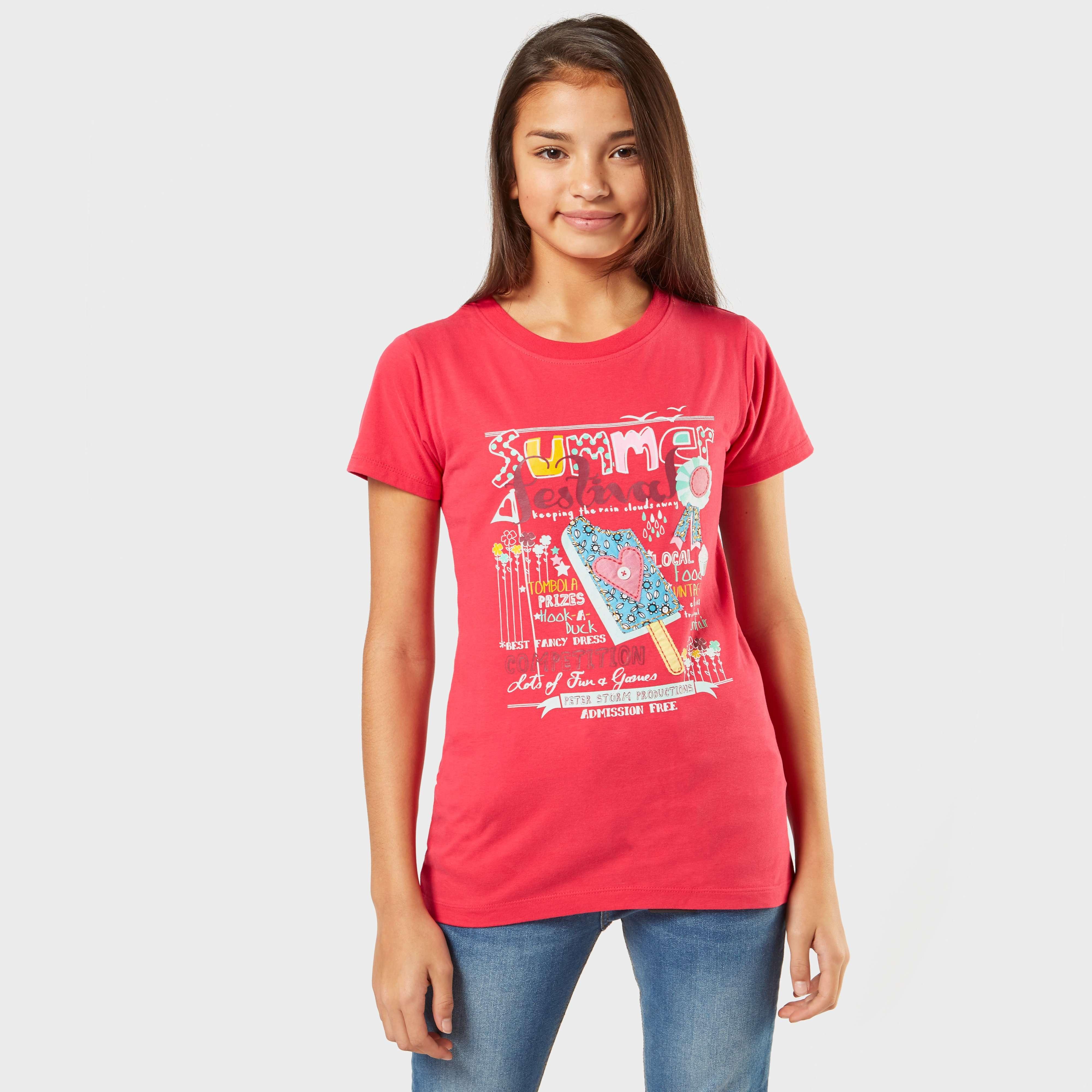 PETER STORM Girl's Summer Festival T-Shirt
