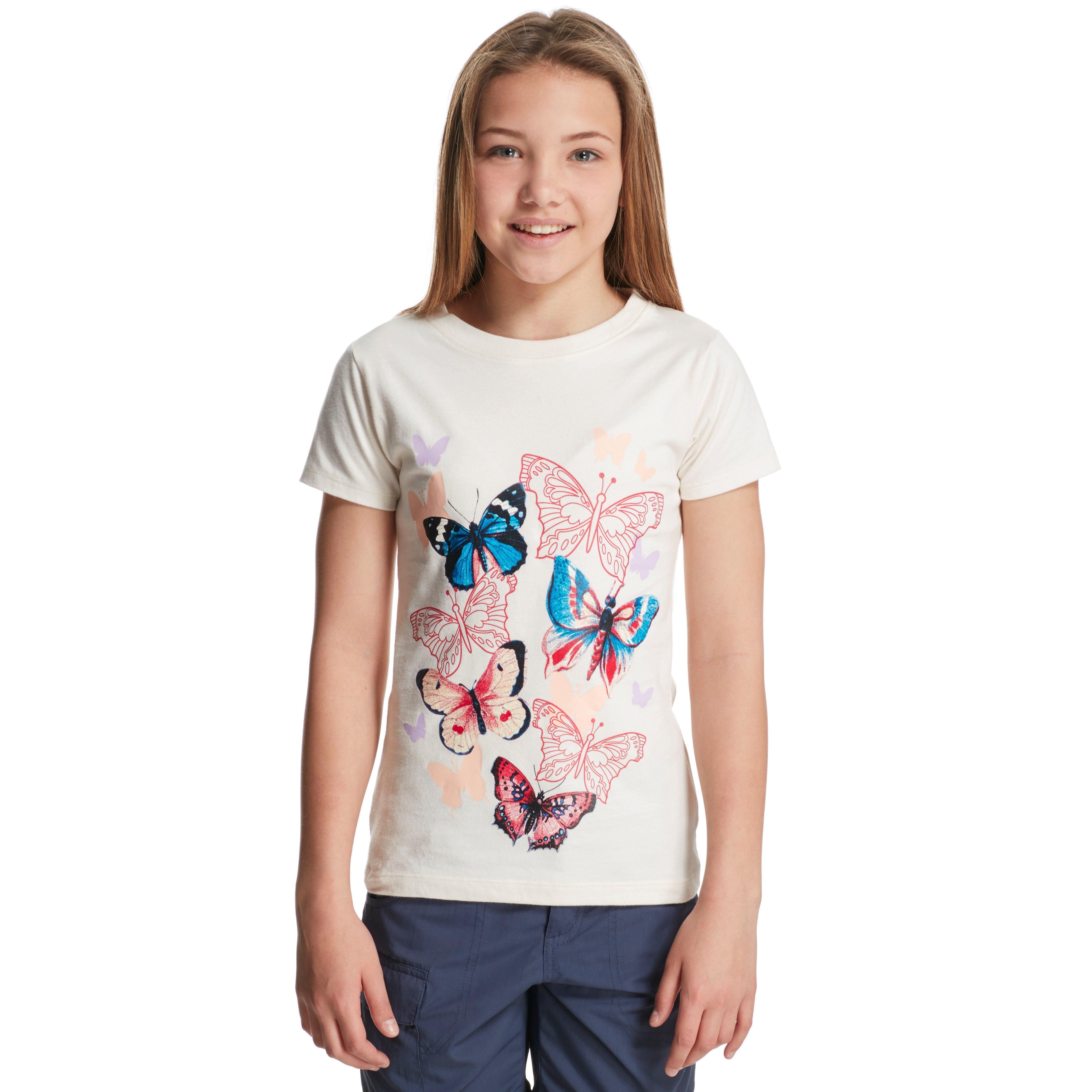 PETER STORM Girl's Butterfly T-Shirt