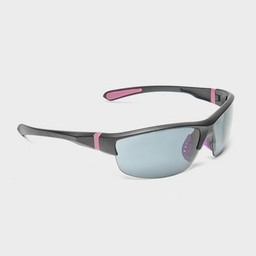 Pink Peter Storm Women's Half Frame Sport Wrap Sunglasses