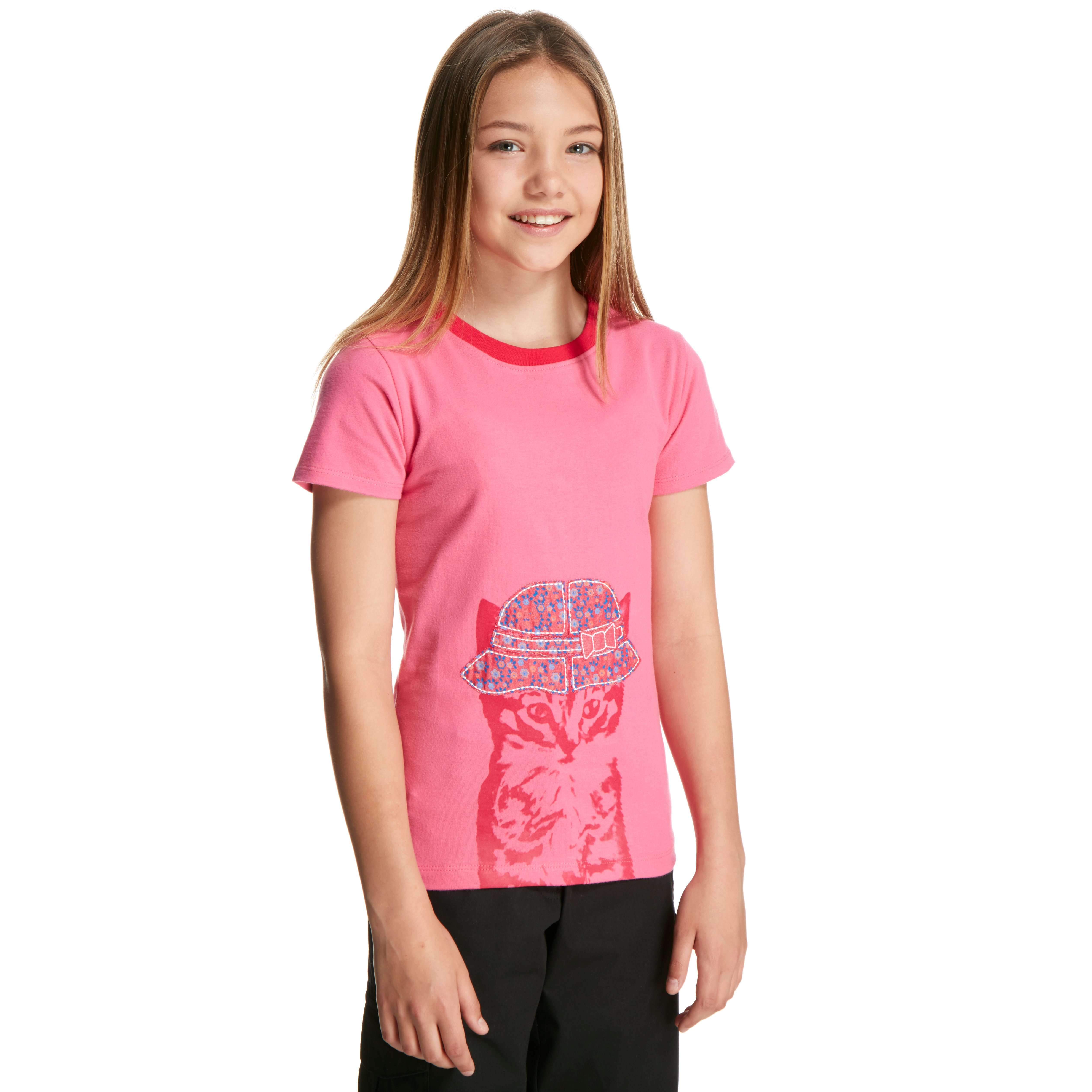 PETER STORM Girl's Cool Cat T-Shirt