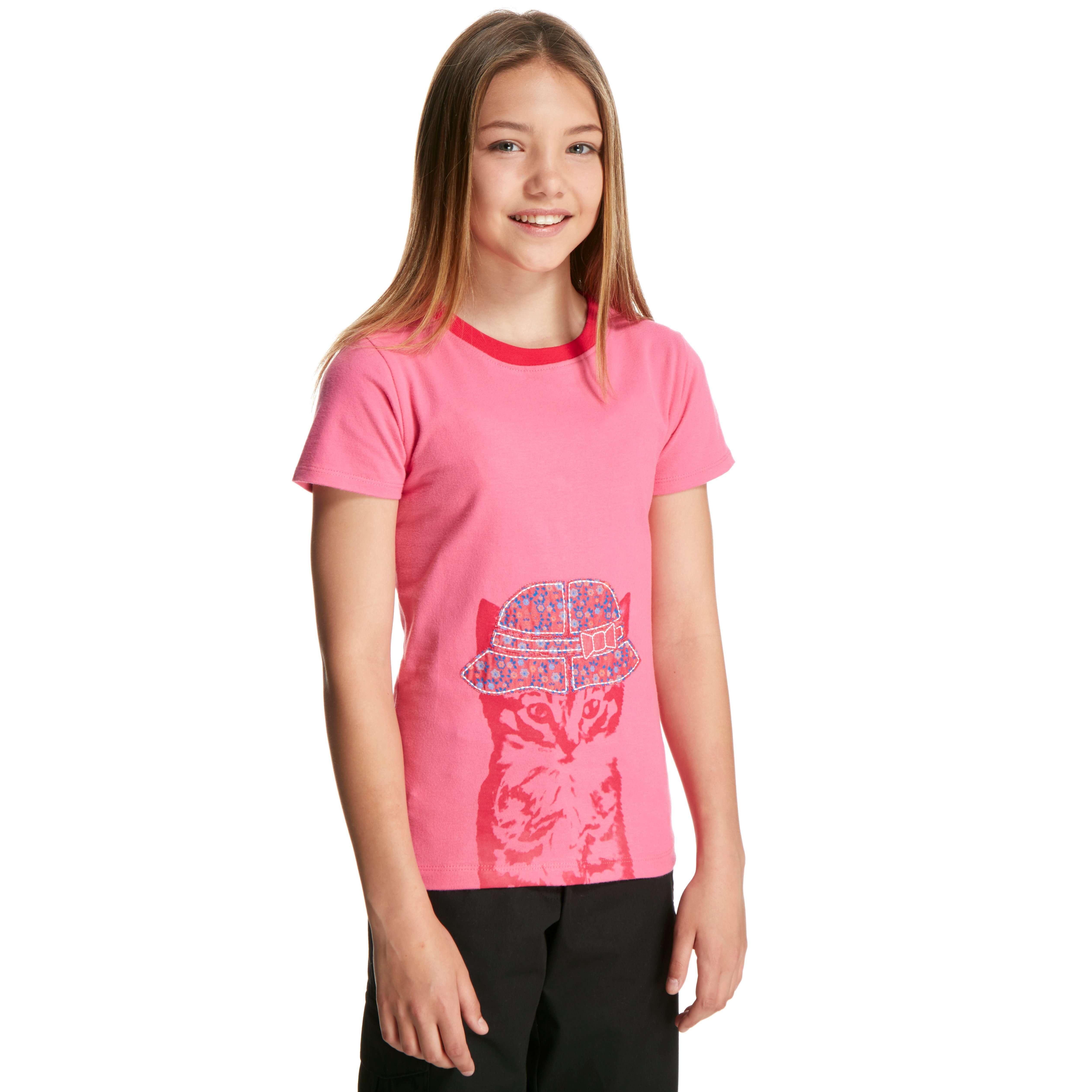 PETER STORM Girls' Cool Cat T-Shirt