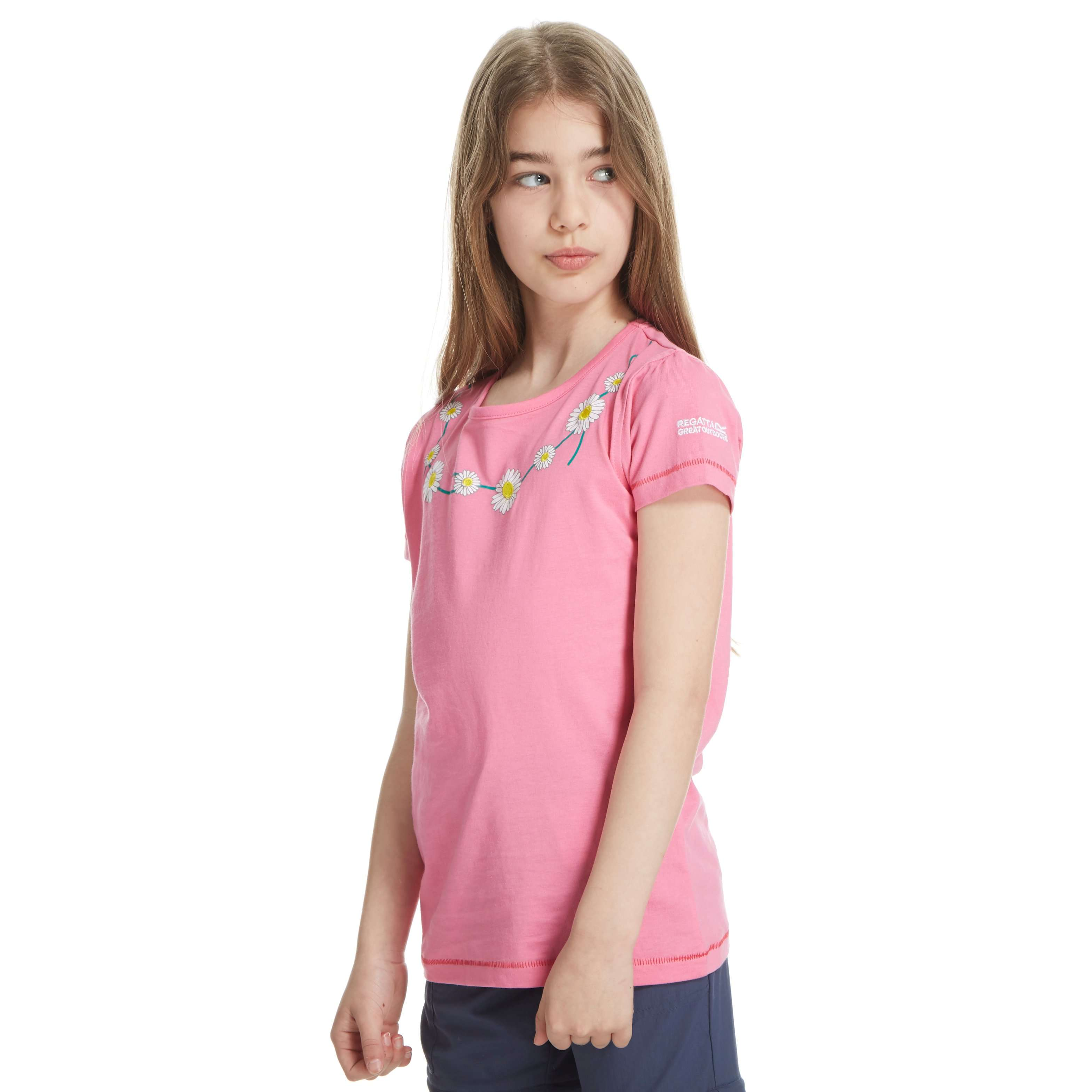 REGATTA Girl's Daisy Bobbles T-Shirt