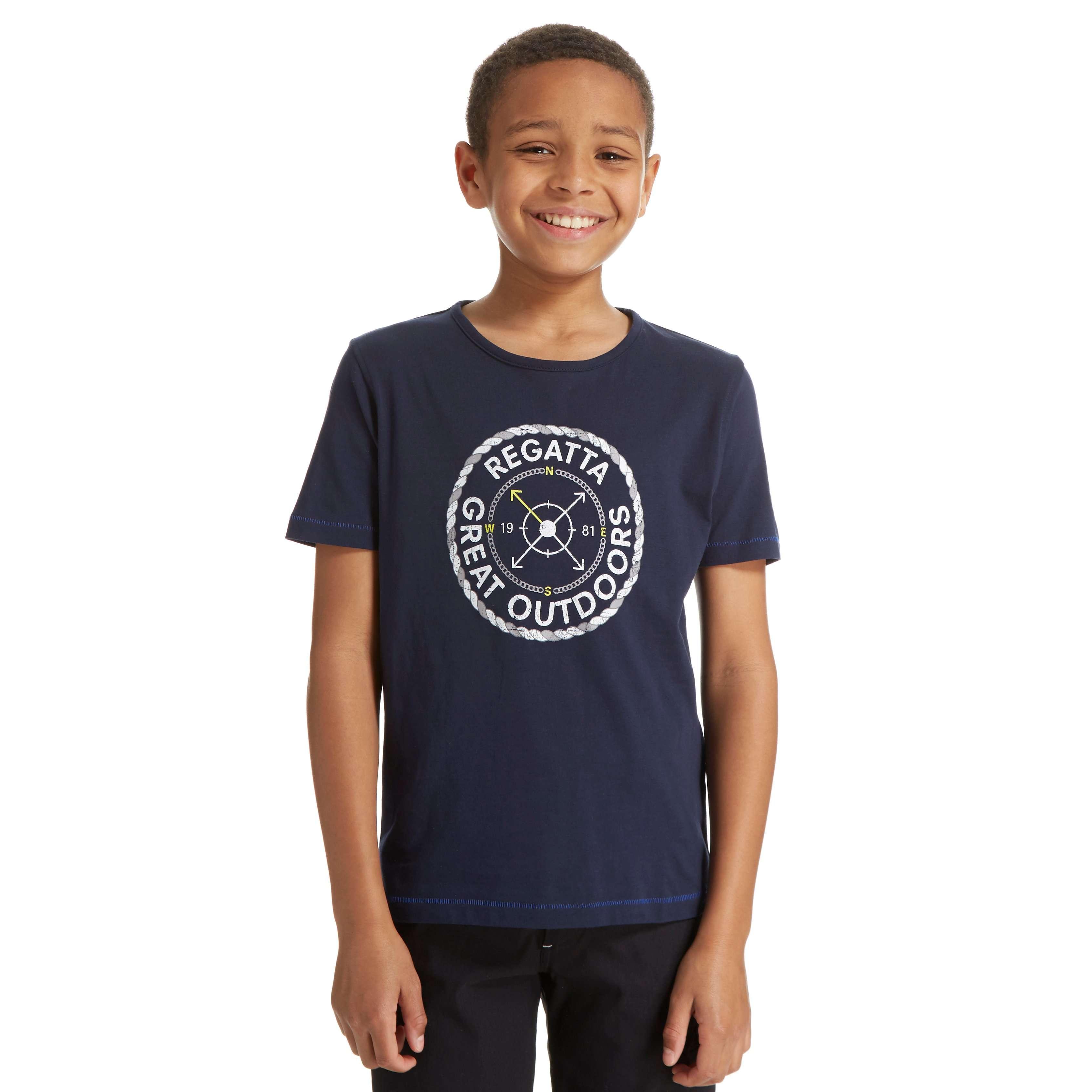 REGATTA Boy's Compass Bobbles T-Shirt