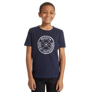 REGATTA Boy's Compass Bobbles T-Shirt