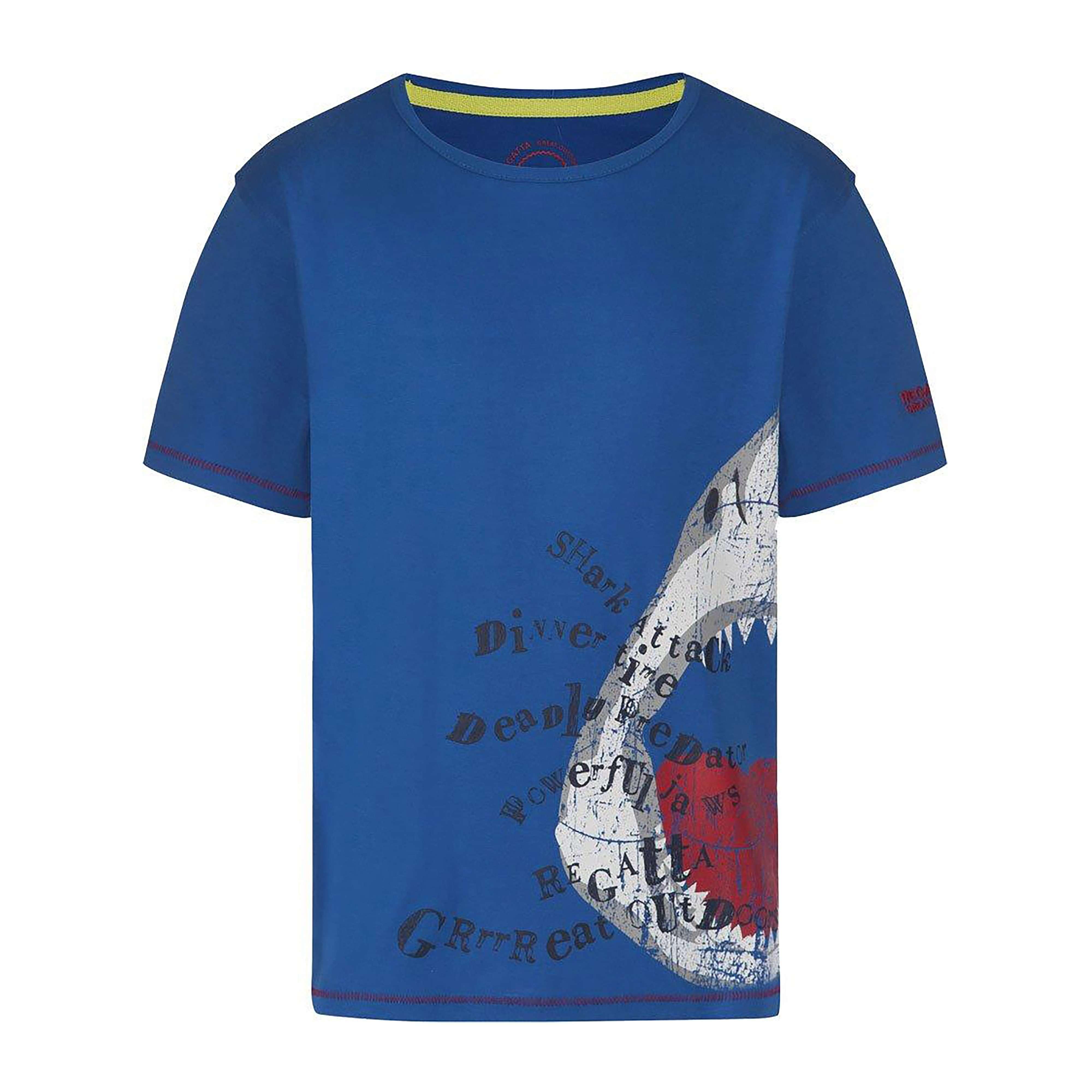 REGATTA Boy's Shark Bobbles T-Shirt
