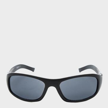 Black Peter Storm Boys' Rounded Wrap-Around Sunglasses