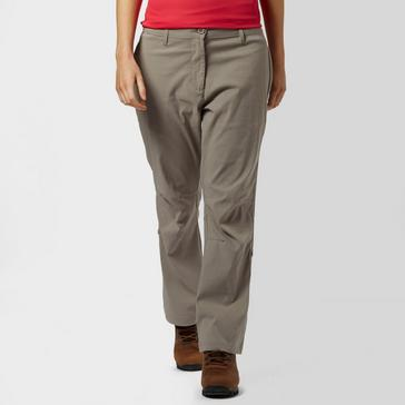 Mid Grey Peter Storm Women's Stretch Roll Up Trousers - Short