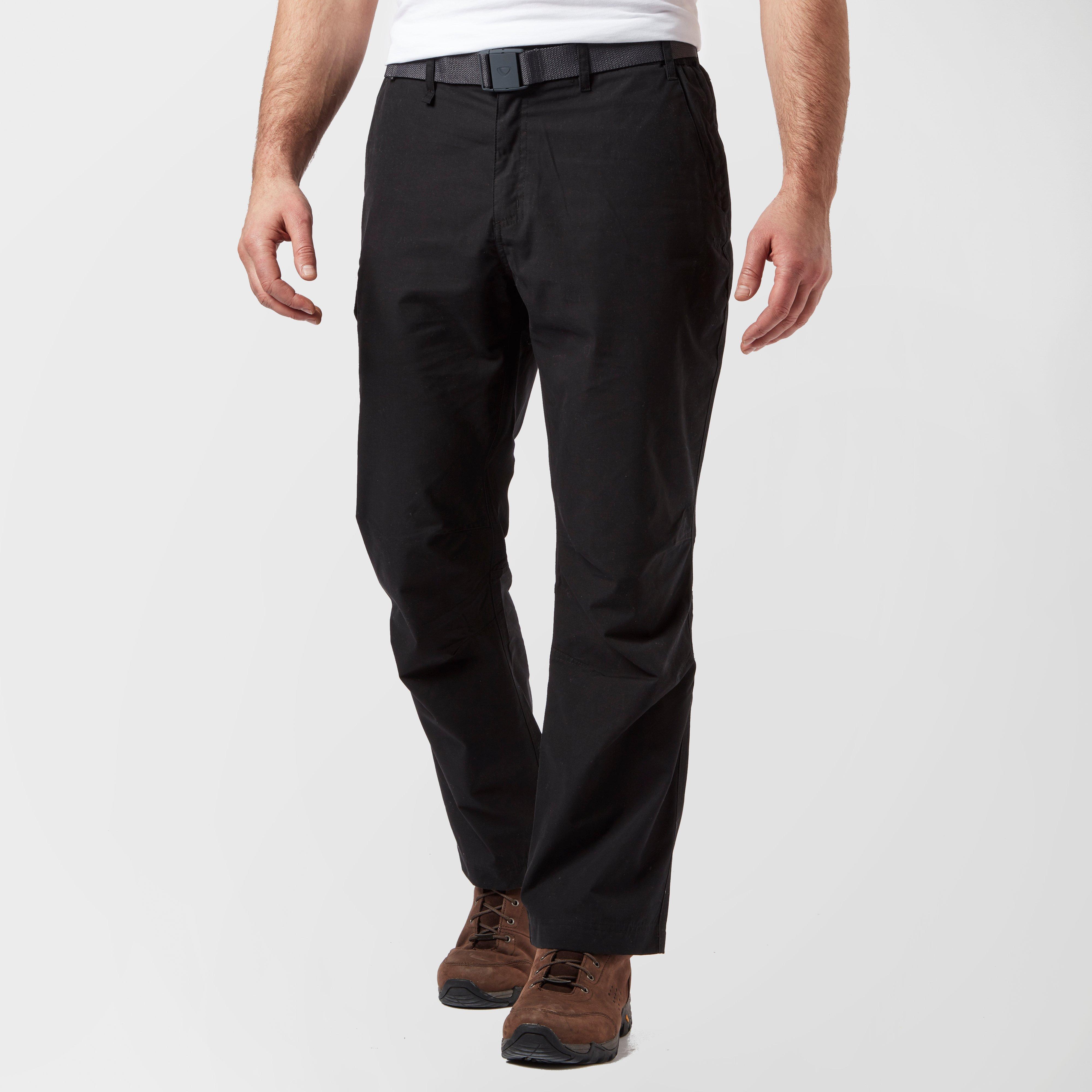Brasher Brasher Mens Walking Trousers - Black, Black