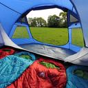 Blue EUROHIKE Cairns 4 Man Deluxe Tent image 4