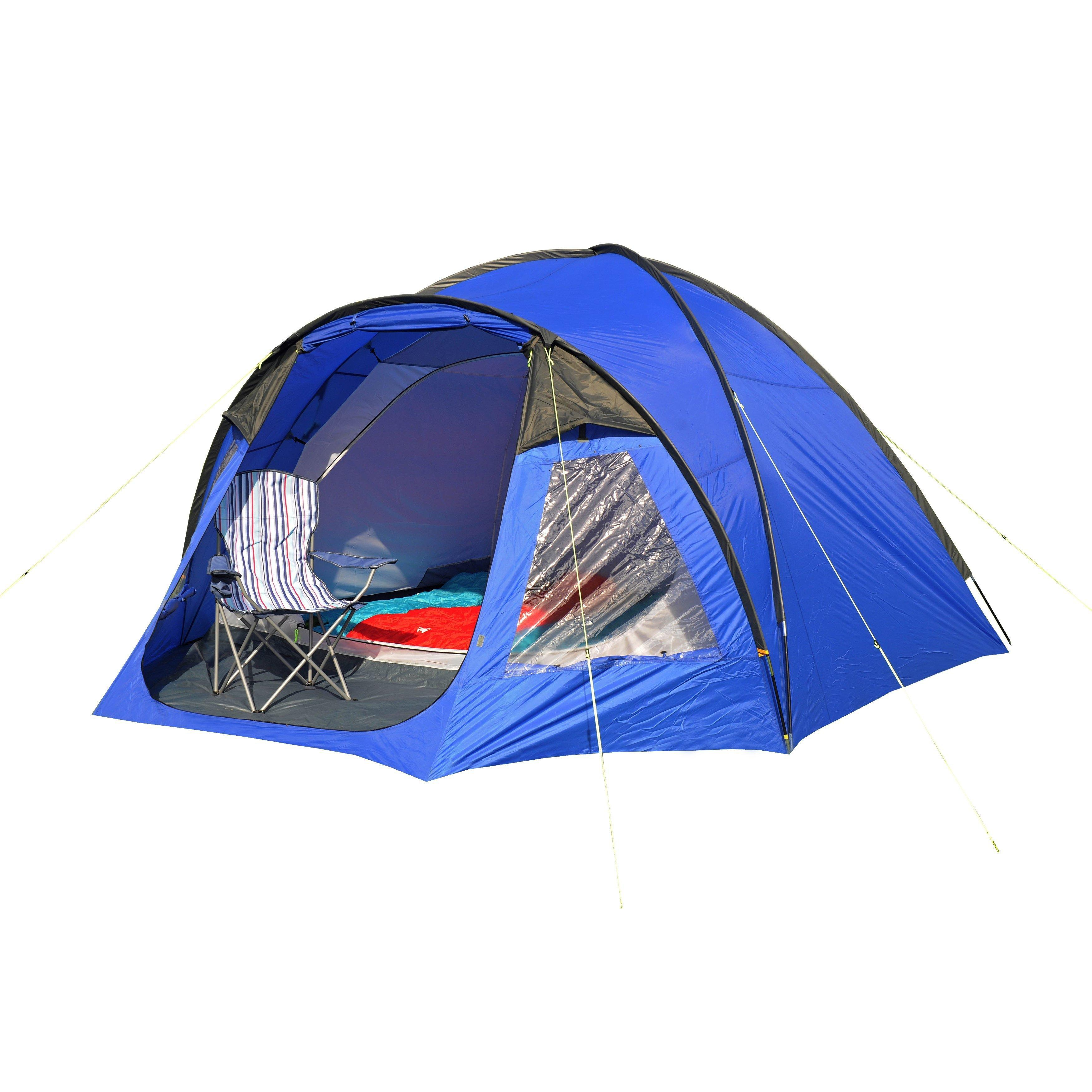 Eurohike Cairns 5 Man Deluxe Tent  5 Blue