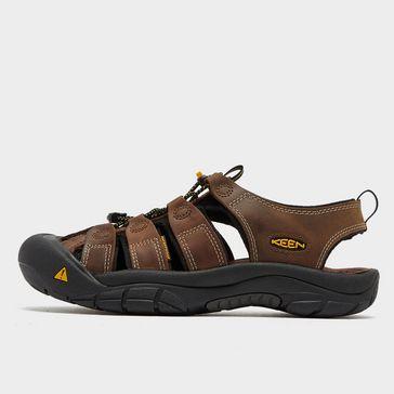 fbab20c562af Brown KEEN Men s Newport Leather Sandal ...