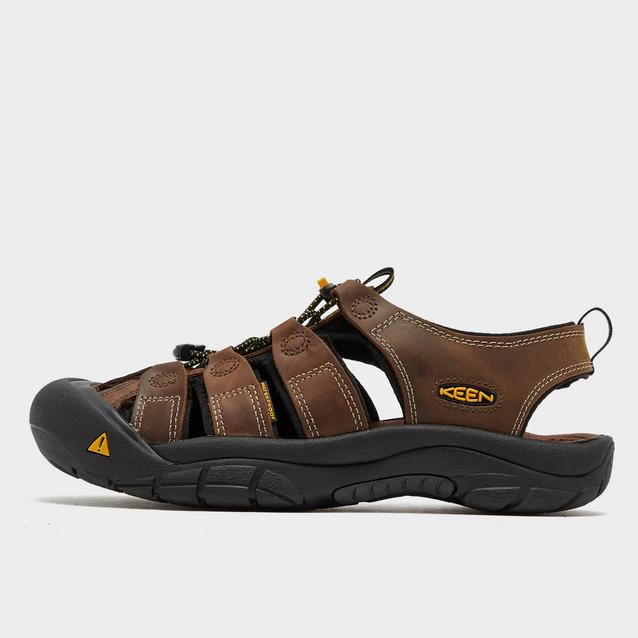 d89e251dda9 Brown KEEN Men's Newport Leather Sandal image 1