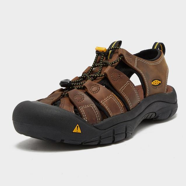 de4c7eabf40 Brown KEEN Men's Newport Leather Sandal image 3