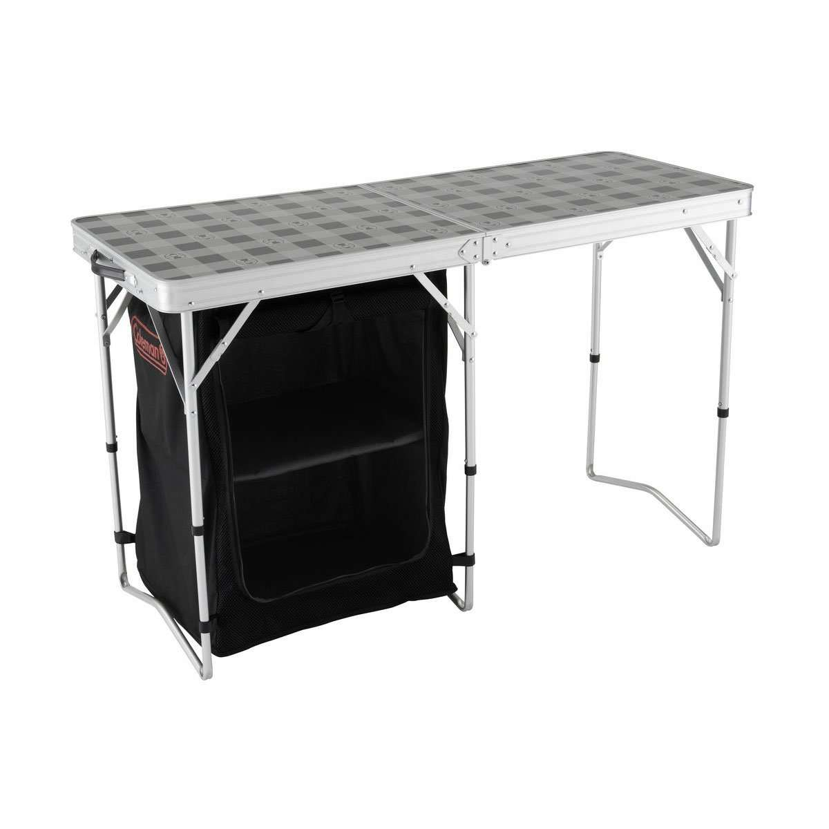 COLEMAN 2 in 1 Camp Table & Storage
