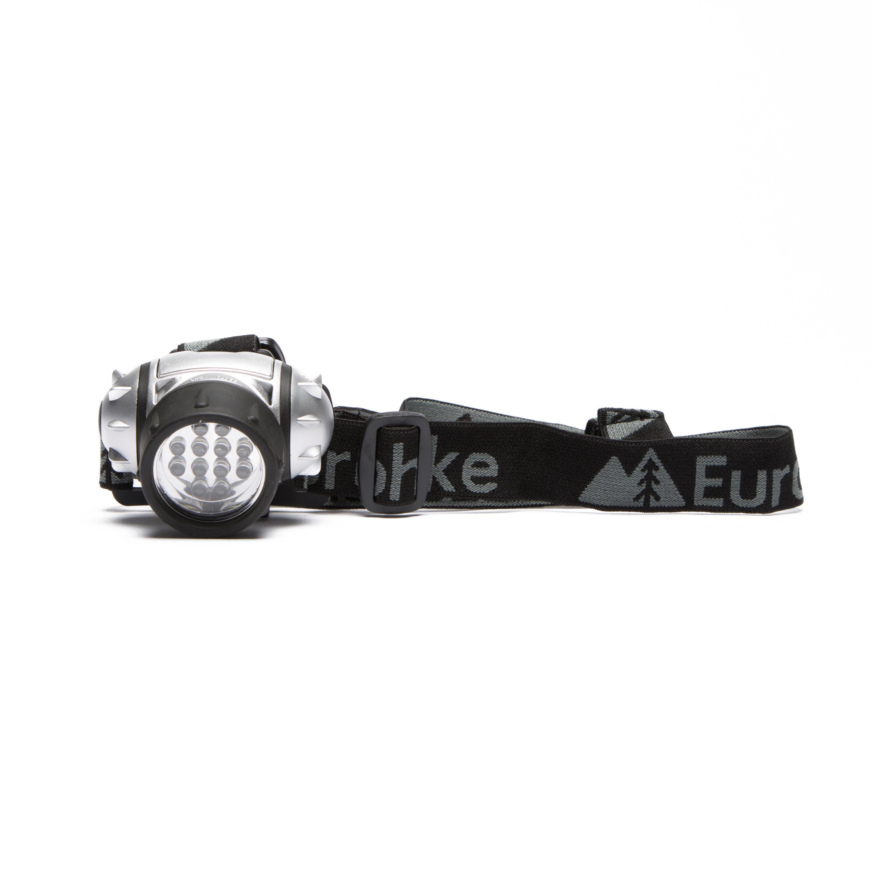Eurohike 12 LED Head Torch Black