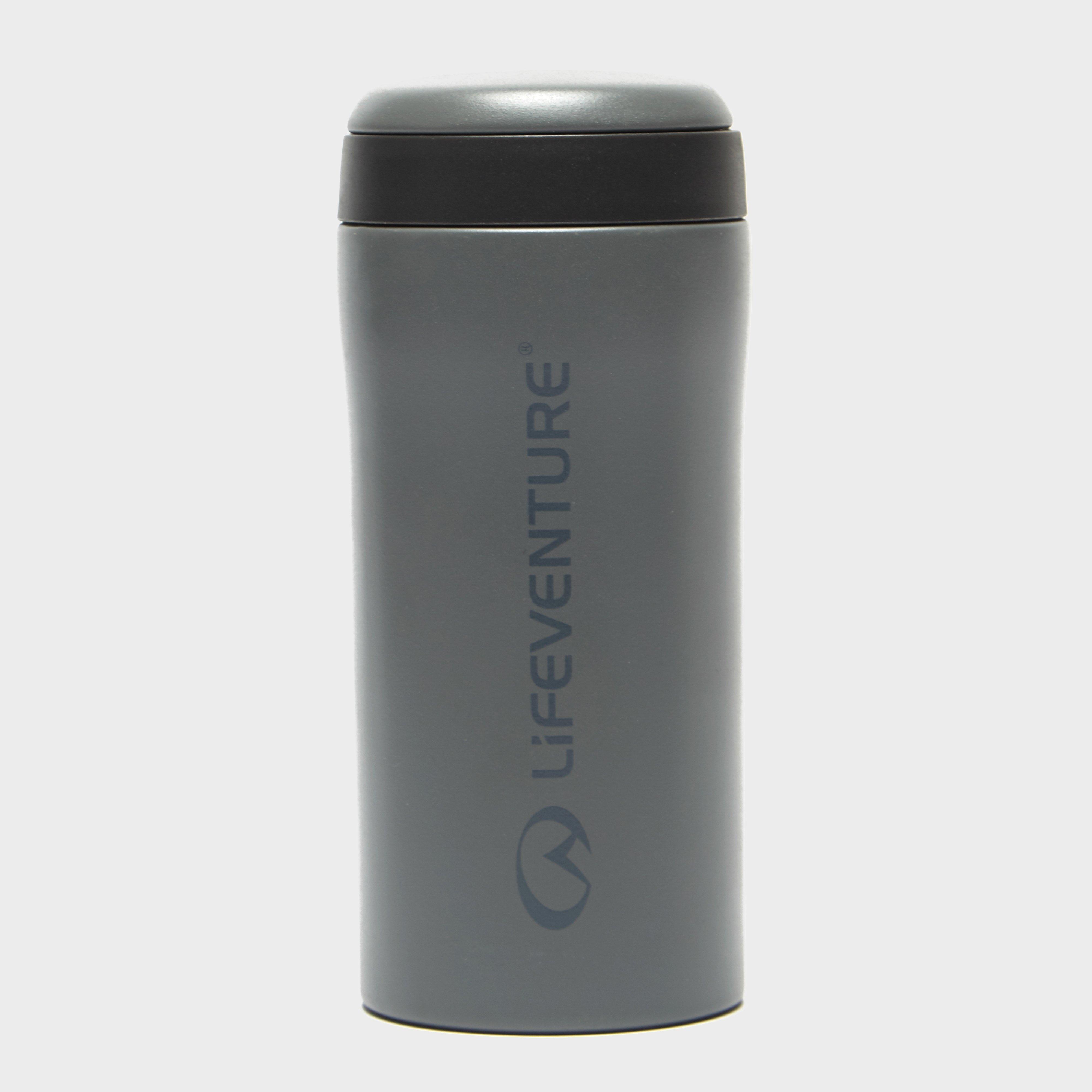 Lifeventure Lifeventure Thermal Mug - Grey, Grey