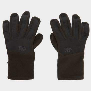 Black The North Face Denali E-Tip Gloves