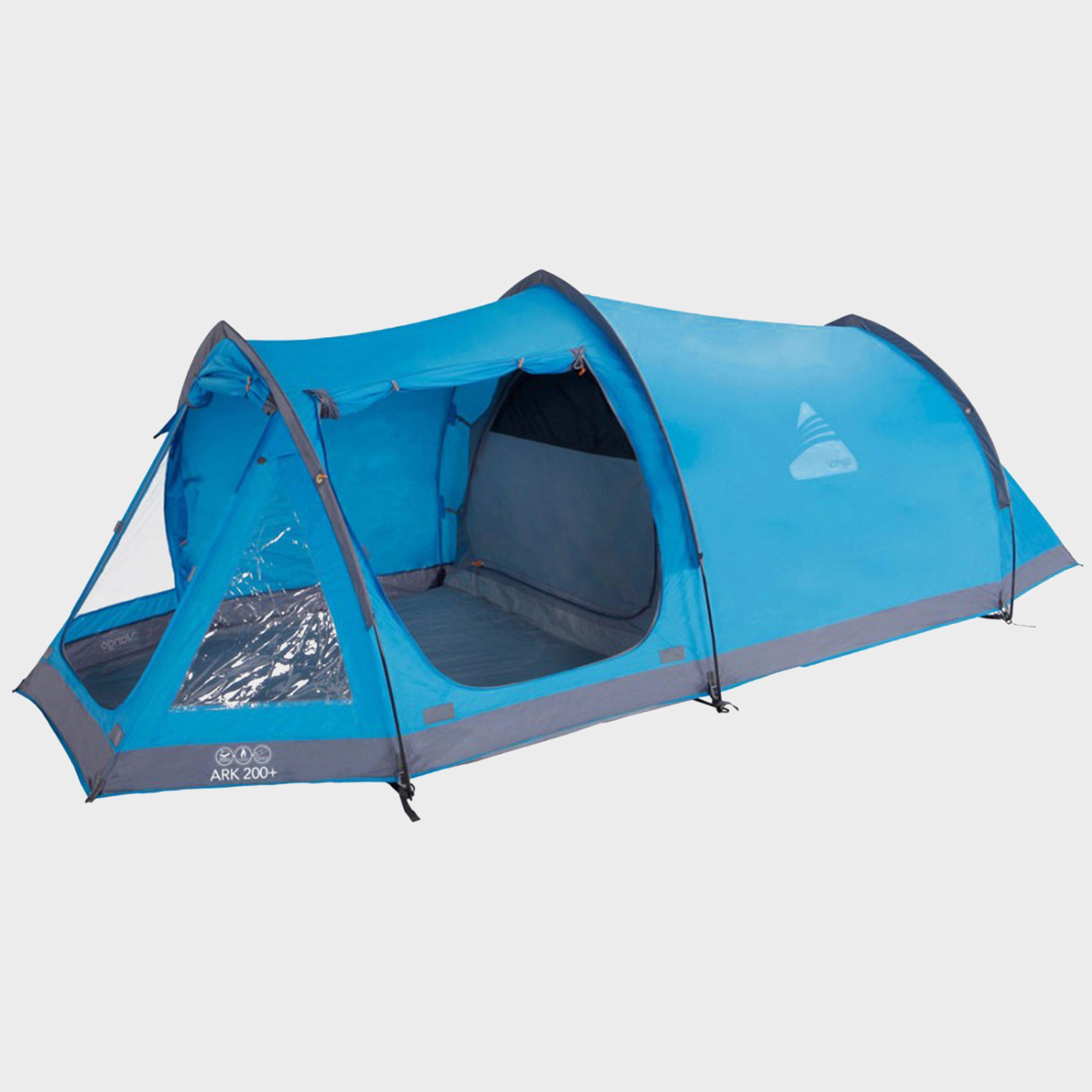 VANGO Ark 200 Plus 2 Person Tent & 2 Person Tents | Blacks