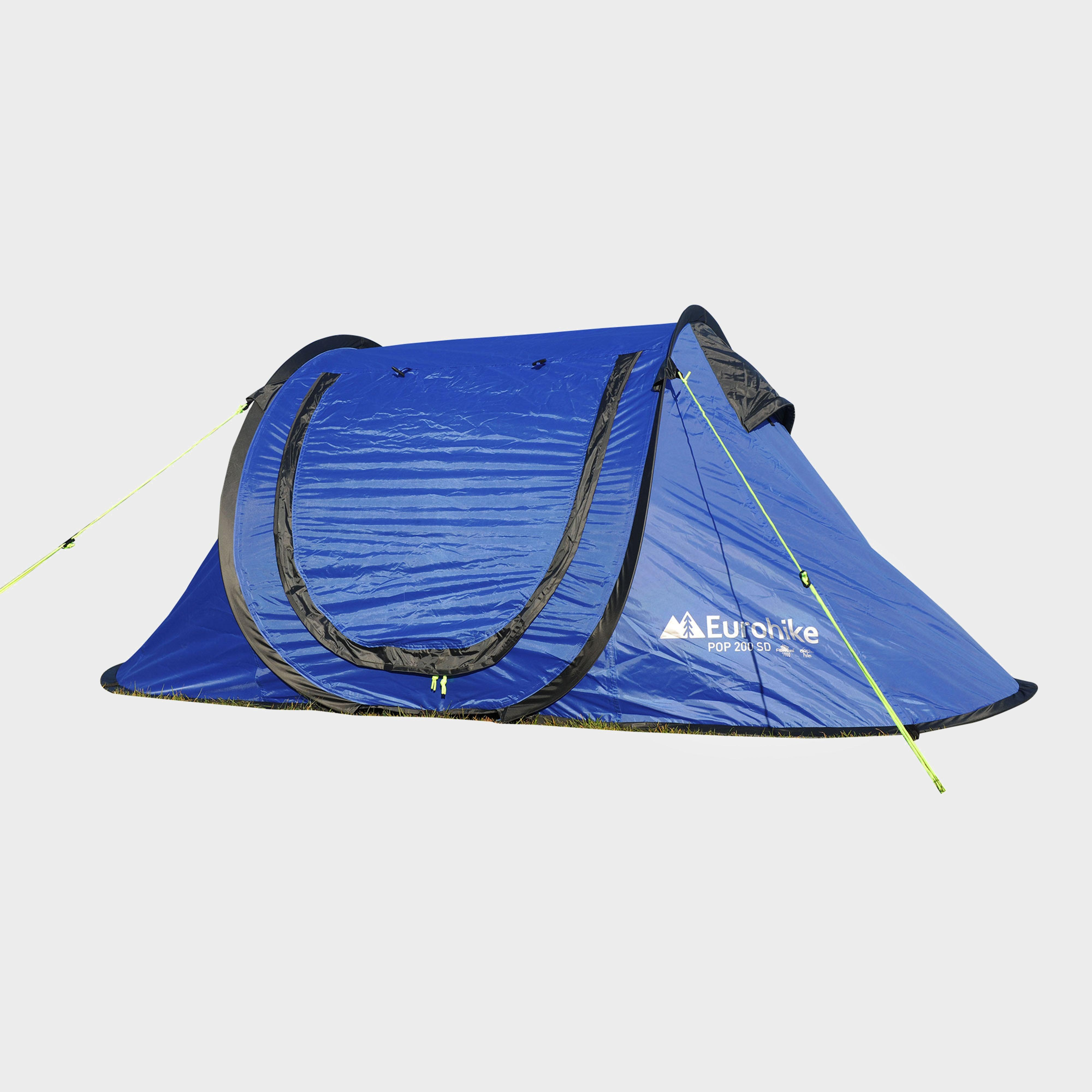 EUROHIKE Pop 200 2 Person Tent & Tents | Family Backpacking u0026 Camping Tents | Blacks