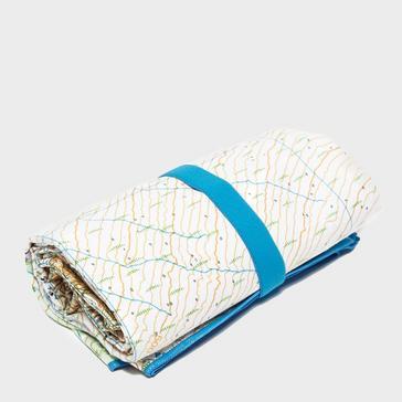 N/A LIFEVENTURE Giant Towel (Ben Nevis OS Map Print)