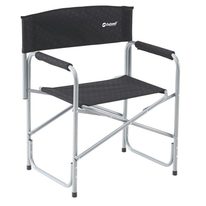 Outwell Toledo Folding Camping Chair Black