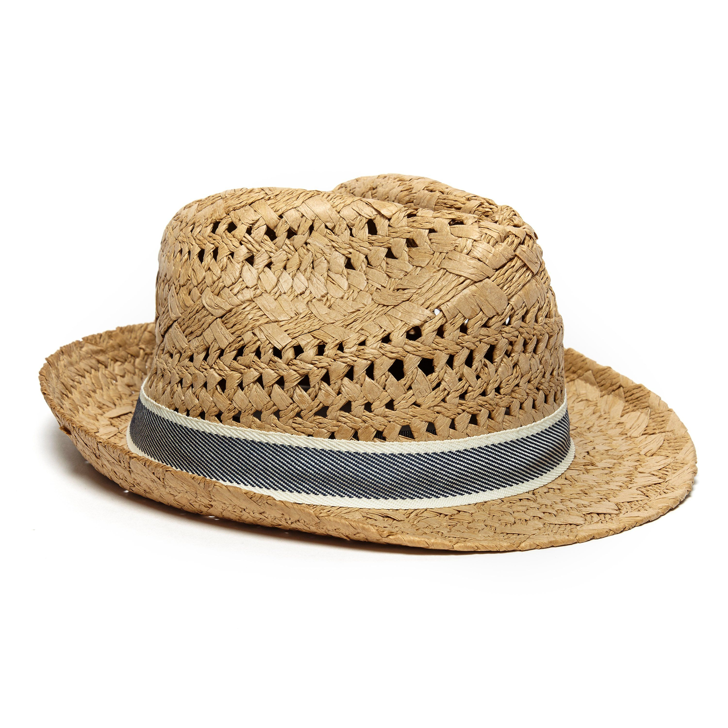 ONE EARTH Straw Trilby