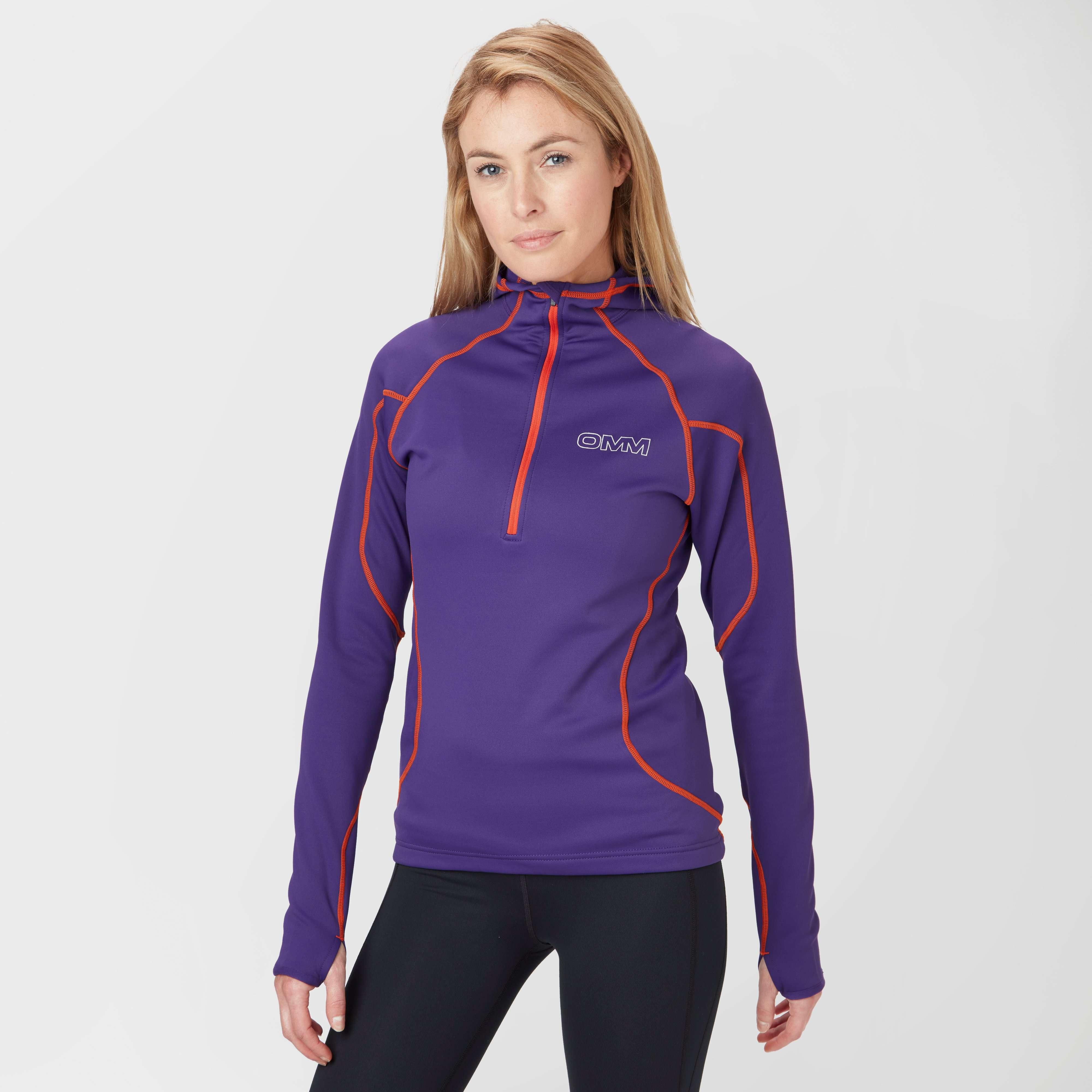 OMM Women's Contour Half-Zip Hooded Fleece