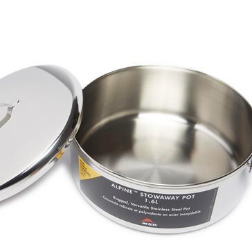 Silver MSR Alpine Stowaway Pot - 1.6L