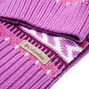 Pink COLUMBIA Women's Winter Worn Hat and Scarf Set image 2