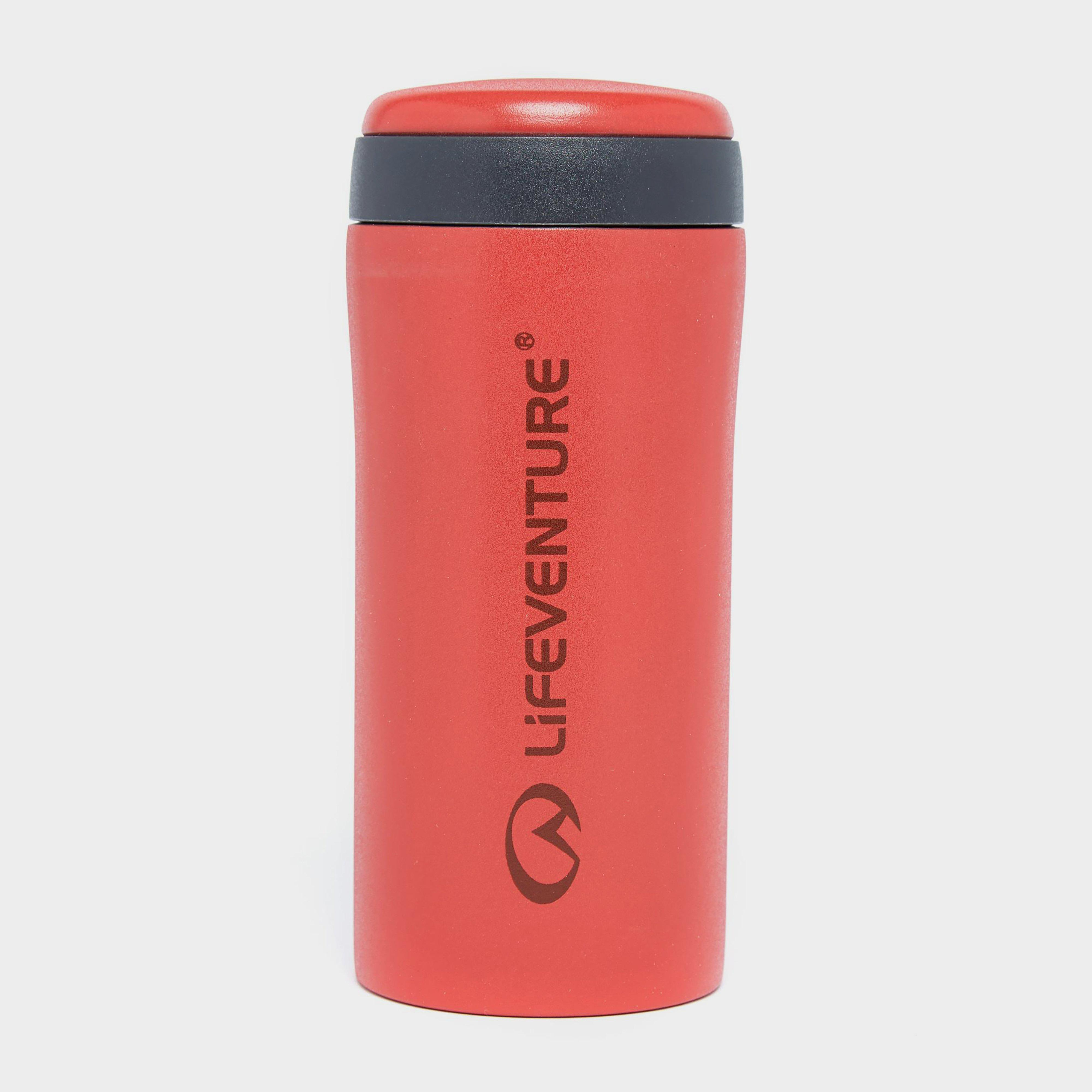 Lifeventure Lifeventure Thermal Mug - Red, Red