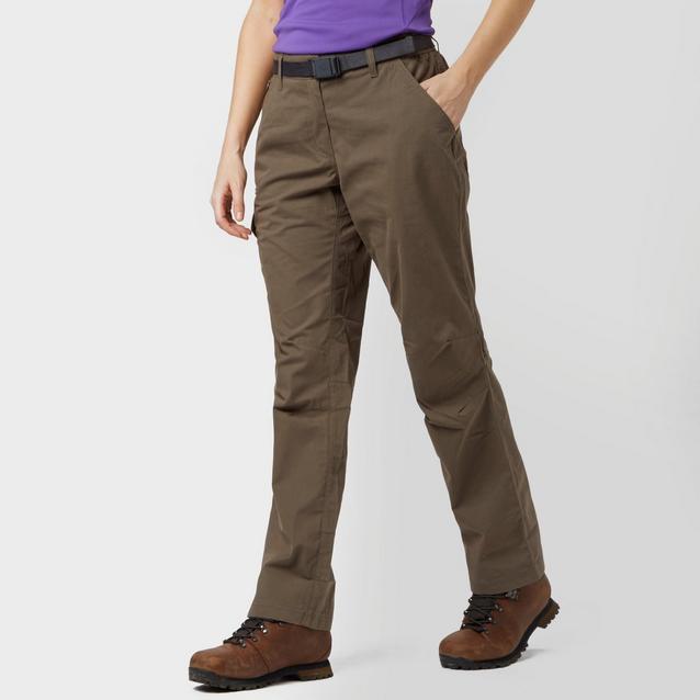a8e27e35b14ff Brown BRASHER Women's Walking Trousers image 1