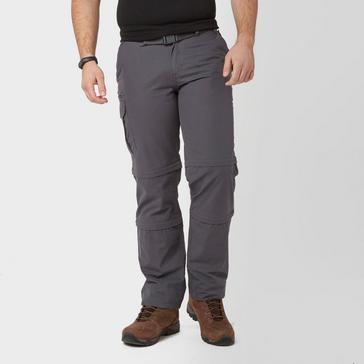 Grey|Grey Brasher Men's Double Zip Off Trousers