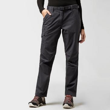 Grey|Grey Brasher Women's Walking Trousers