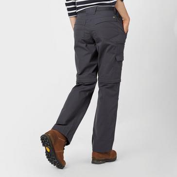 Grey|Grey Brasher Women's Zip Off Trousers