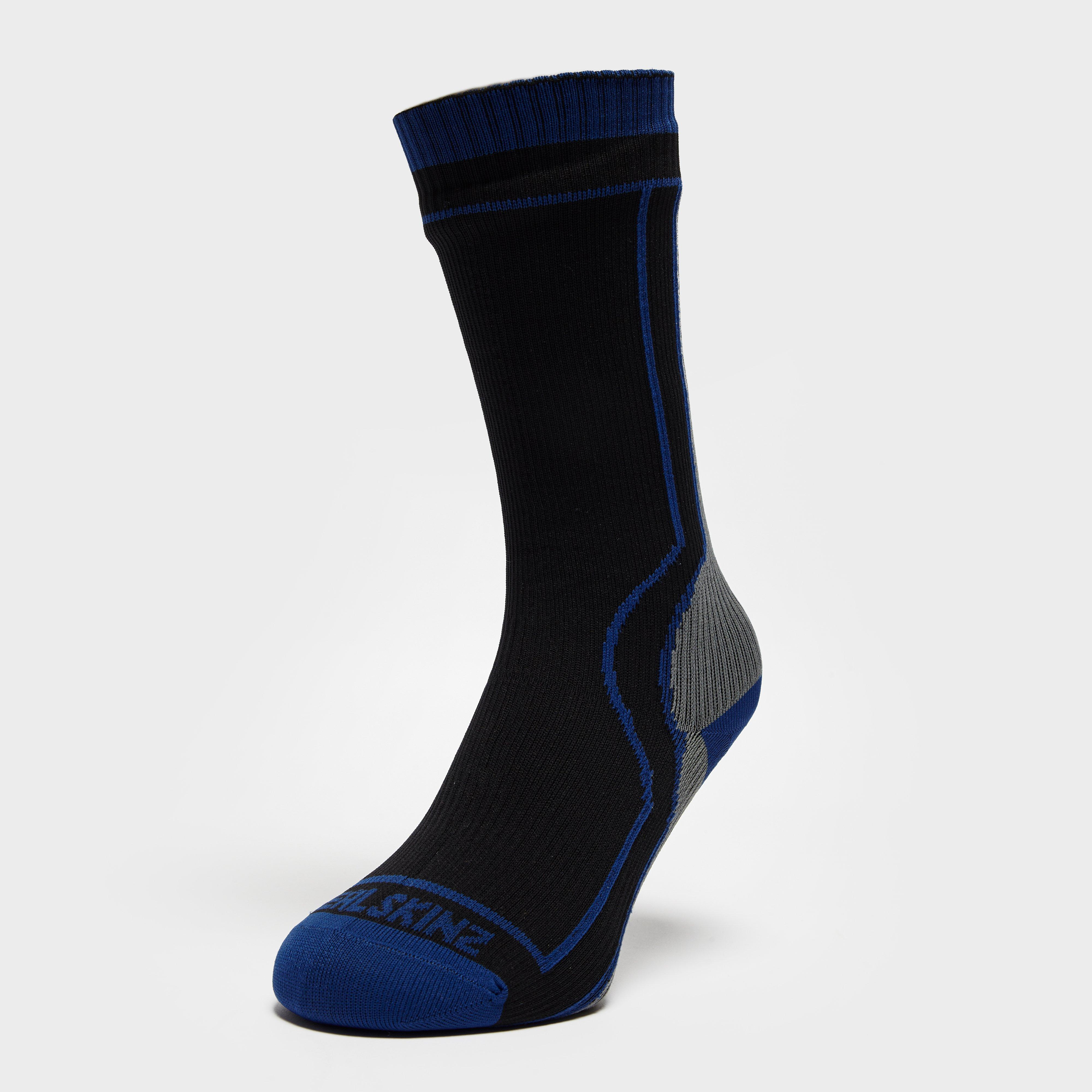 Sealskinz Thick Mid Length Sock - Grey, Grey