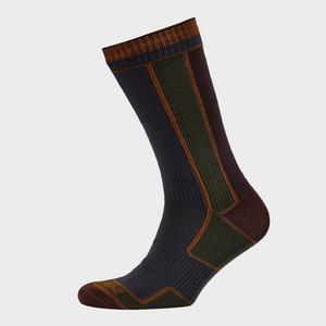 SEALSKINZ Men's Mid-Length Walking Socks