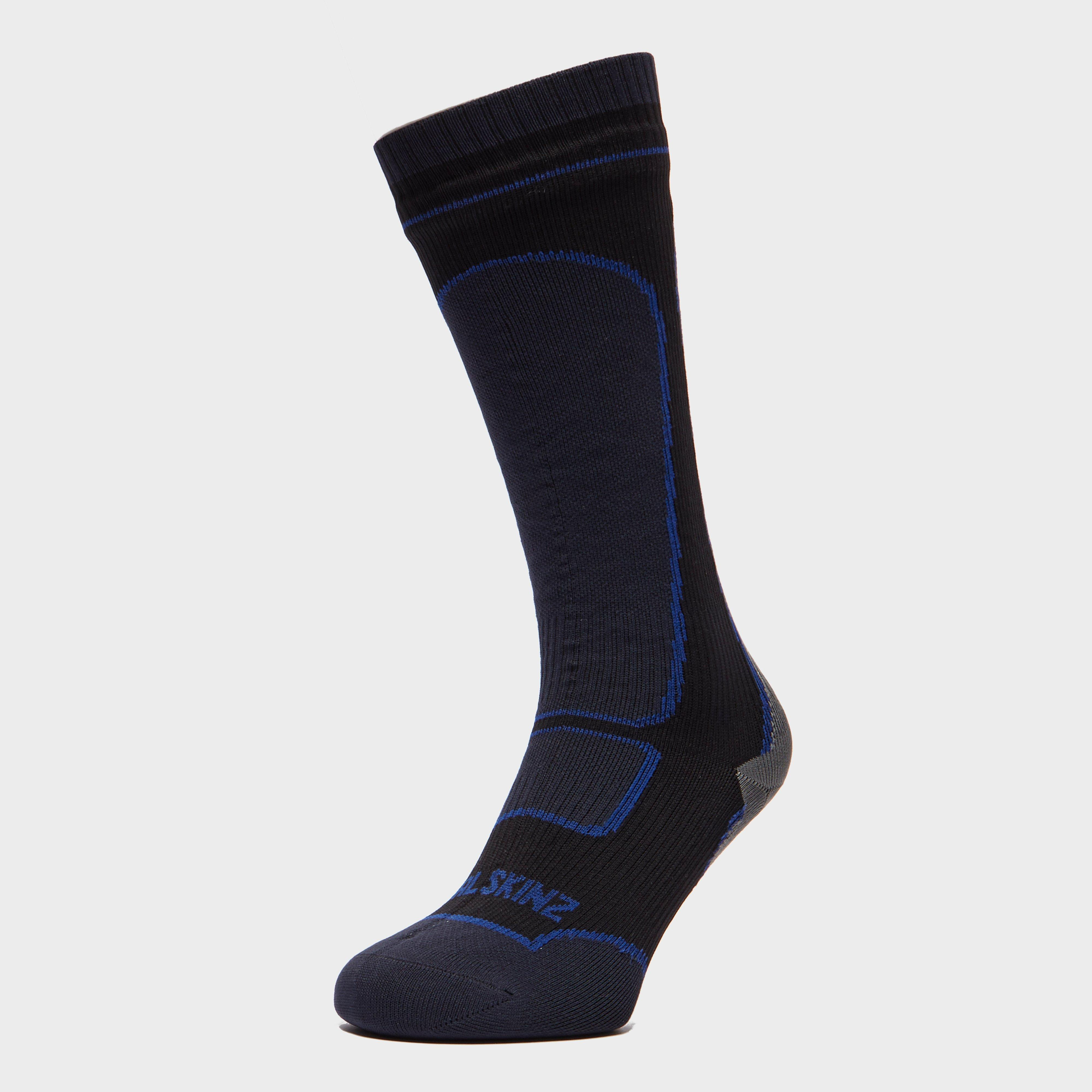 SealSkinz Sealskinz Mens Mid-Weight Knee-Length Socks - Black, Black
