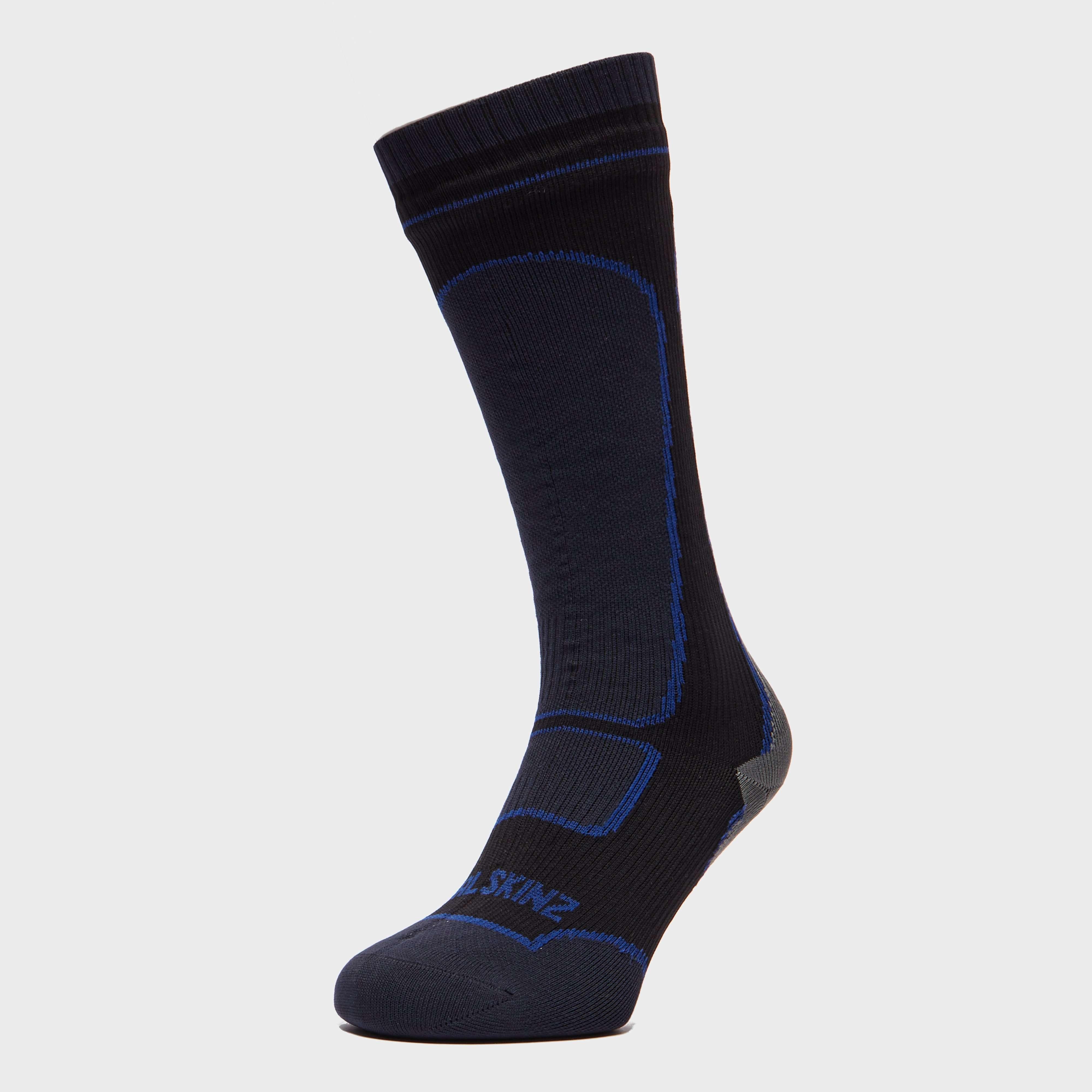 SEALSKINZ Men's Mid-weight Knee Length Socks