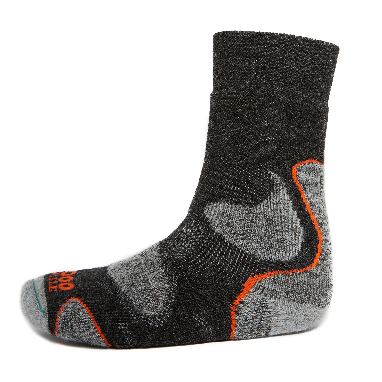 Image of 1000 Mile 3 Season Walking Sock, Grey