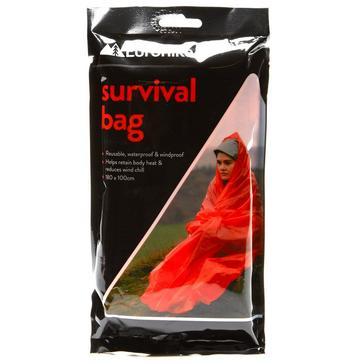 Silver Eurohike Survival Bag