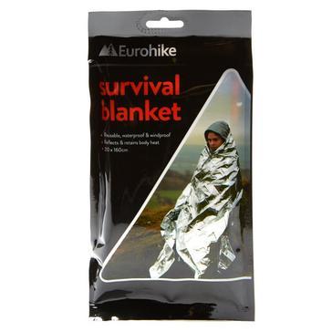 Silver Eurohike Survival Blanket