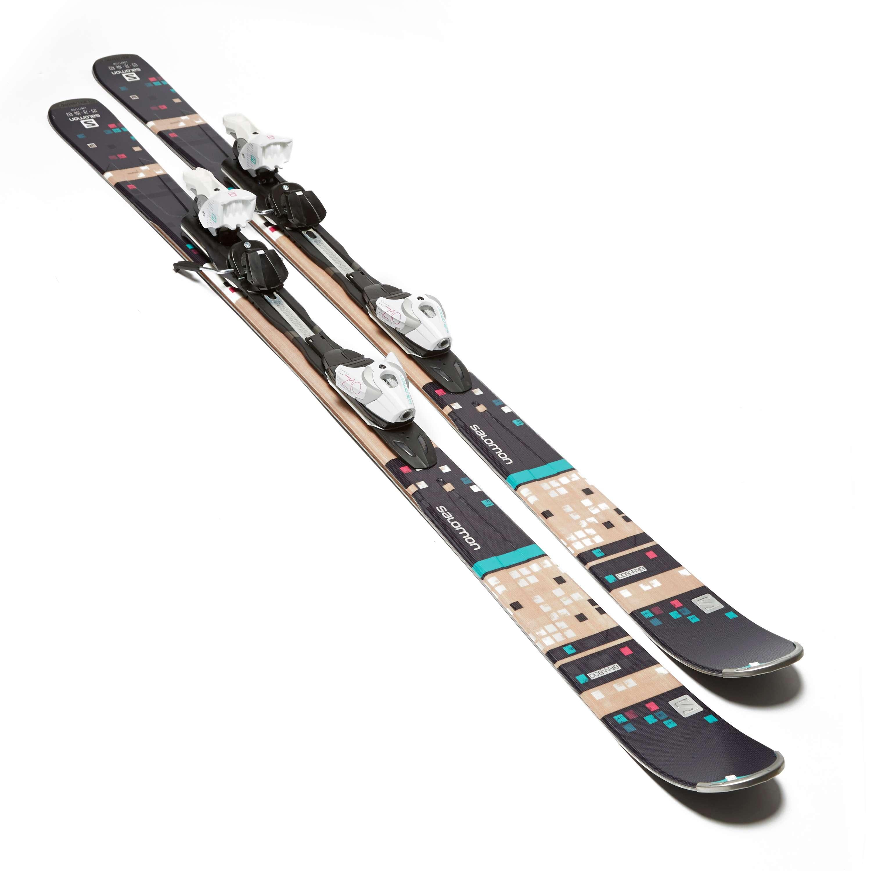 SALOMON Women's Bamboo Skis with Z10 TI Bindings