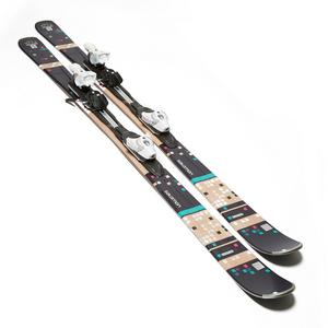 Salomon Women's Bamboo Skis with Z10 TI Bindings