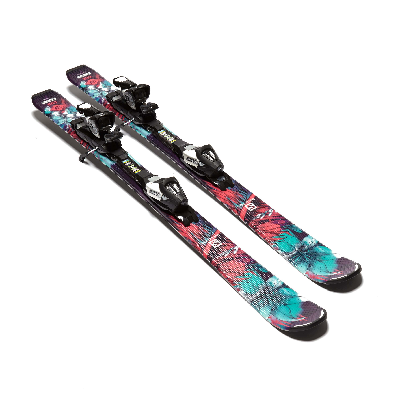 SALOMON Q-Lux Jr Skis Small