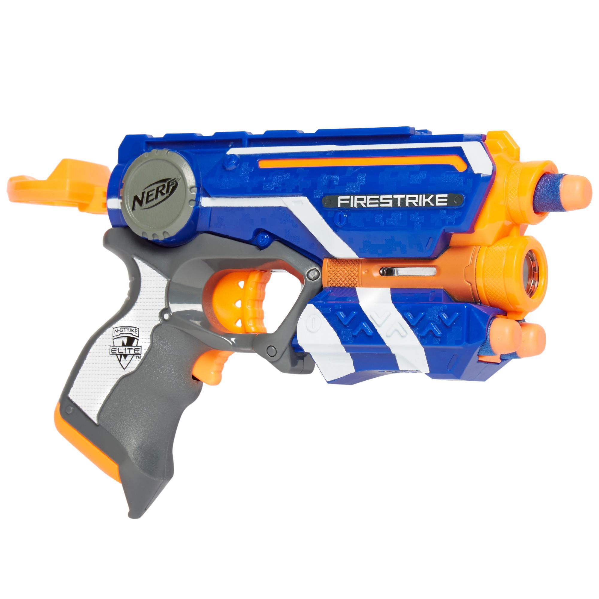 NERF Nerf N-Strike Firestrike Blaster - Blue, Blue