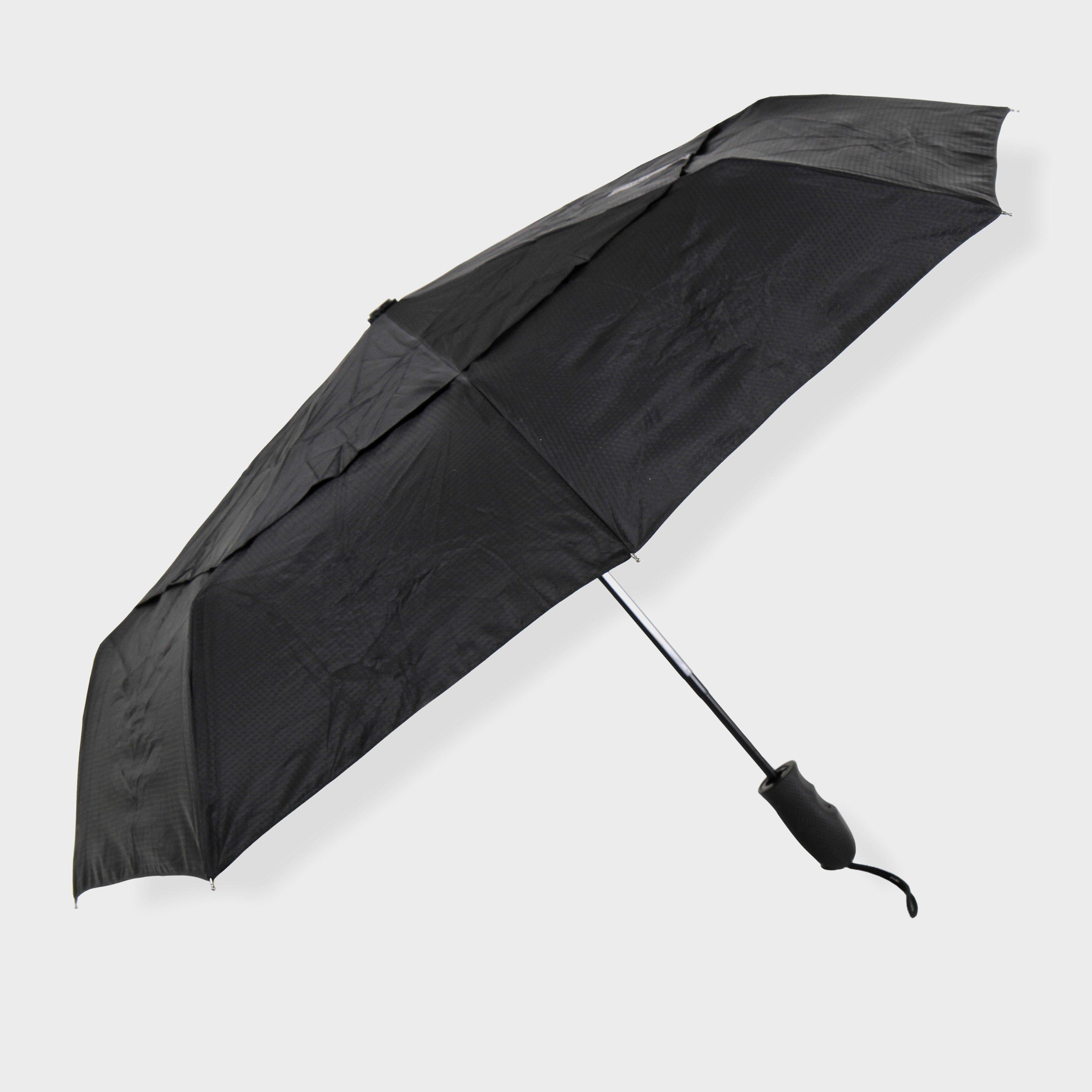 Lifeventure Lifeventure Trek Umbrella - Black, Black