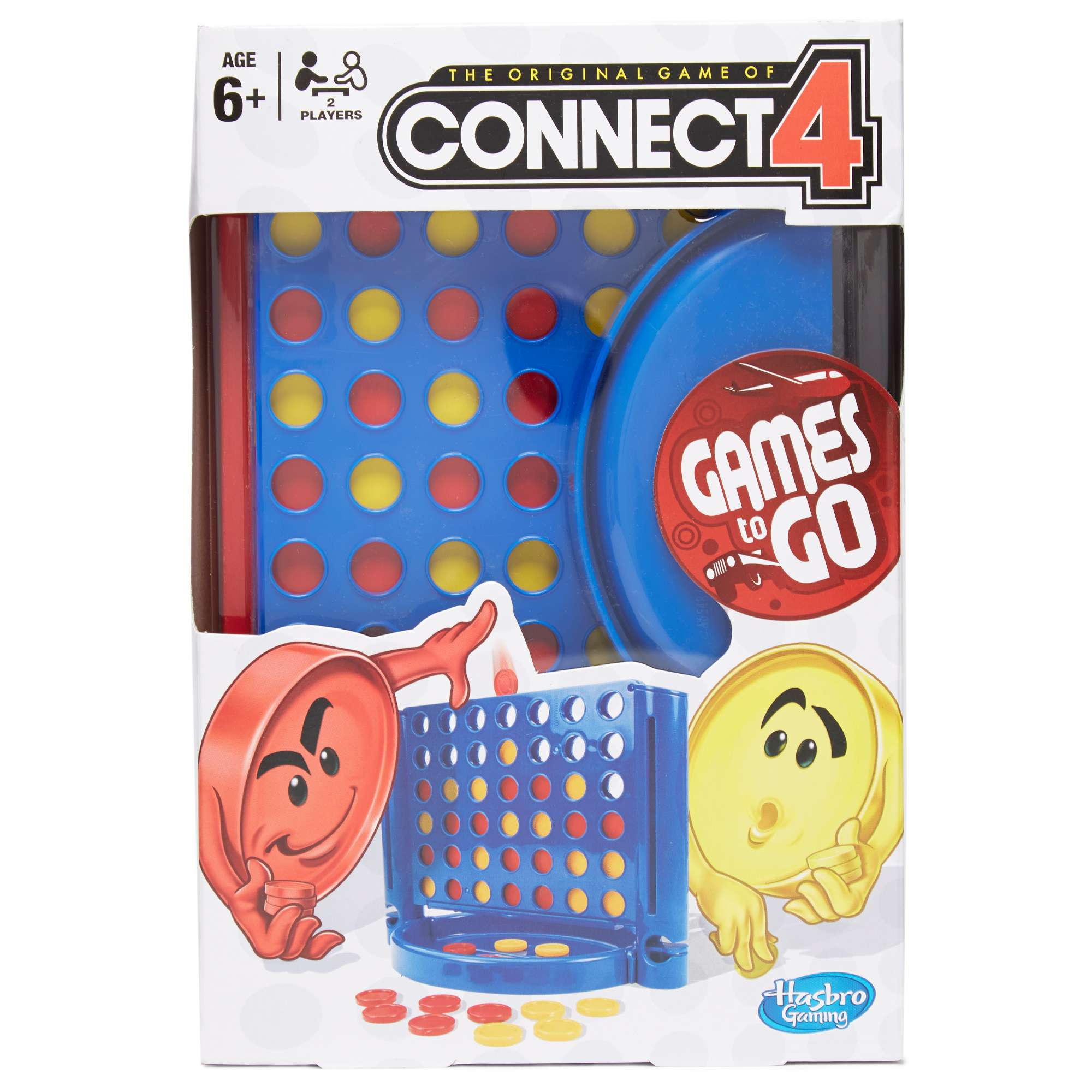 HASBRO Travel Connect 4