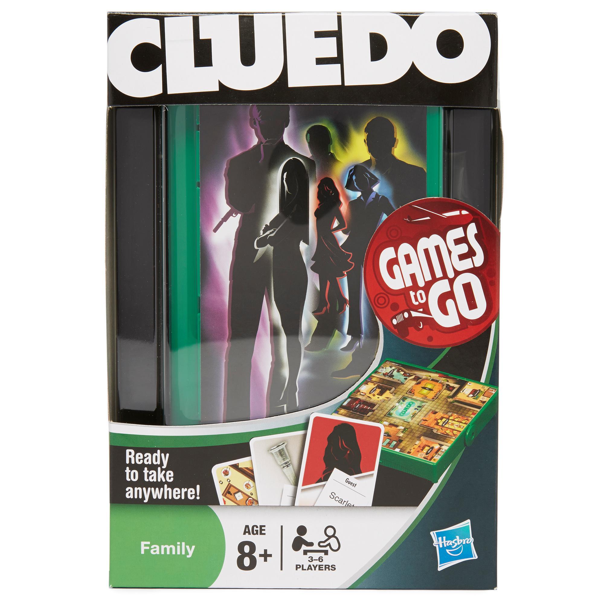 Hasbro Hasbro Travel Cluedo