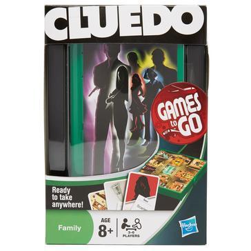 MULTI Hasbro Travel Cluedo