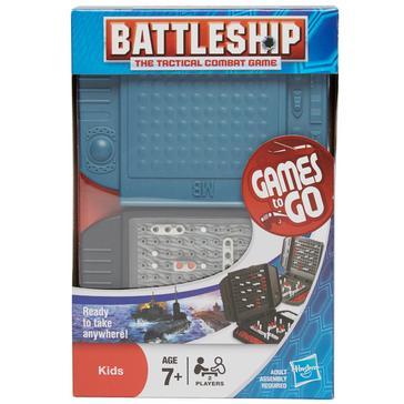 Blue Hasbro Travel Battleship